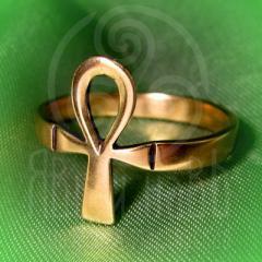 "кольцо ""Анх - II"" бронза"