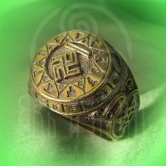 "кольцо ""Чертог Вепря"" бронза"