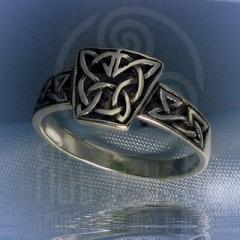 """кольцо """"Кельтика"""" серебро"""