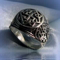 """кольцо """"Валькирия - I"""" серебрение арт.2551с"""