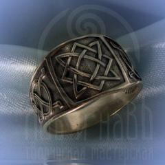 "кольцо ""Звезда Лады"" серебро"