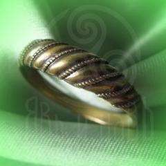 "кольцо ""Витое  3"" бронза"
