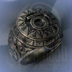 """кольцо """"Чертог Медведя"""" серебро"""