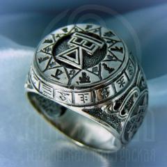 """кольцо """"Чертог Девы"""" серебро"""