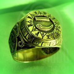 "кольцо ""Чертог Лебедя"" бронза"
