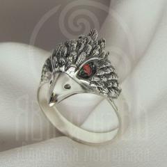 "Кольцо ""Воробей"" Арт.2738кс серебрение"