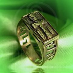 """Кольцо """"Анх"""" Арт. 2524л латунь"""