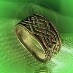 """Кольцо """"Большой тибетский узел"""" Арт. 2542л латунь"""
