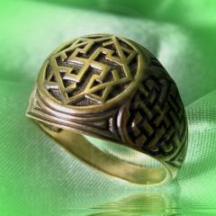 "Кольцо ""Валькирия"" Арт. 2551л латунь"
