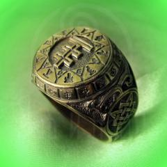 "Кольцо ""Чертог Лисы"" Арт. 2618л латунь"