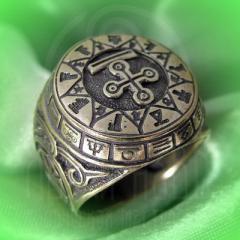 """Кольцо """"Чертог Змея"""" Арт. 2624л латунь"""