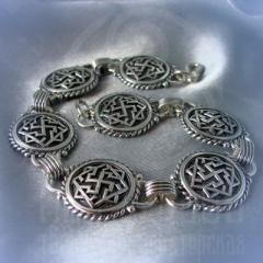 """браслет """"Валькирия"""" серебрение"""
