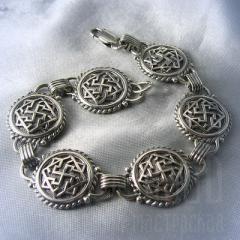 """браслет """"Валькирия"""" серебро"""