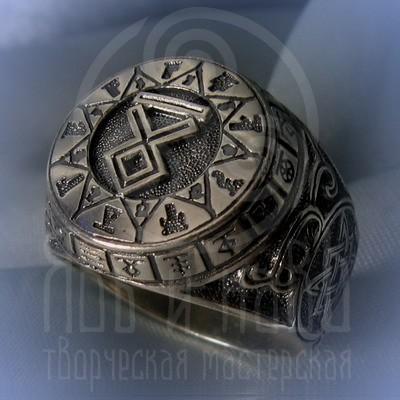 """кольцо """"Чертог Волка"""" серебро"""