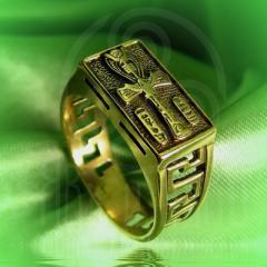 """кольцо """"Анх"""" бронза"""