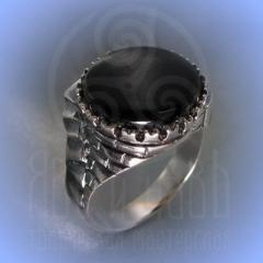 """Кольцо """"Башня"""" Арт.2529с серебрение"""