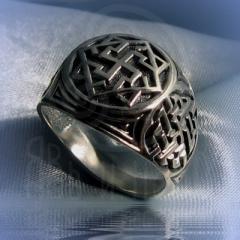 """Кольцо """"Валькирия"""" Арт. 2551с серебрение"""