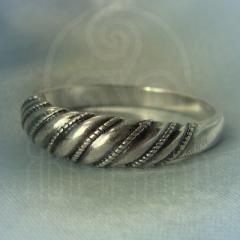 """Кольцо """"Витое"""" Арт. 2606с серебрение"""