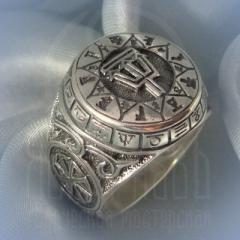 """Кольцо """"Чертог Ворона"""" Арт. 2625с серебрение"""