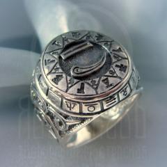 """Кольцо """"Чертог Лебедя"""" Арт. 2631с серебрение"""