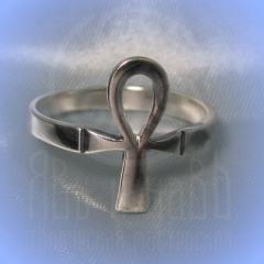 """Кольцо """"Анх"""" Арт. 2673с серебрение"""