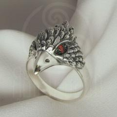 "Кольцо ""Воробей"" Арт. 2738кс серебрение"