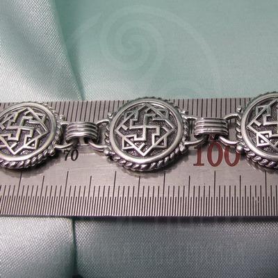 """Браслет """"Валькирия"""" Арт. 1091 серебро"""