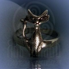 """Кольцо """"Богиня Баст"""" Арт. 2556 серебро"""