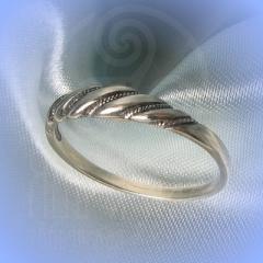 """Кольцо """"Витое узкое"""" Арт. 2607 серебро"""