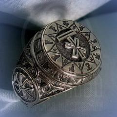 """Кольцо """"Чертог Лося"""" Арт. 2621 серебро"""
