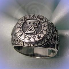 """Кольцо """"Чертог Девы"""" Арт. 2628 серебро"""
