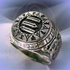 """Кольцо """"Чертог Бусла"""" Арт. 2630 серебро"""