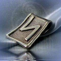 """Подвес """"Руна Сила"""" Арт. 5531 серебро"""